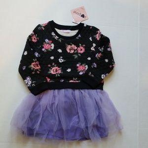 I Heart Pinc Girls Floral Dress sz 5 NWT